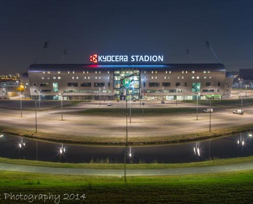 Kyocera Stadion ADO Den Haag by Night | Tux Photography
