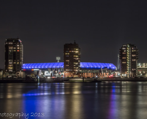 De Kuip by Night - Feyenoord Rotterdam | Tux Photography