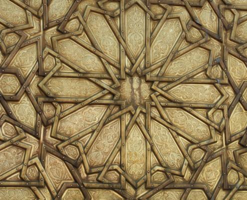 Foto's Marokko - deur in Fès
