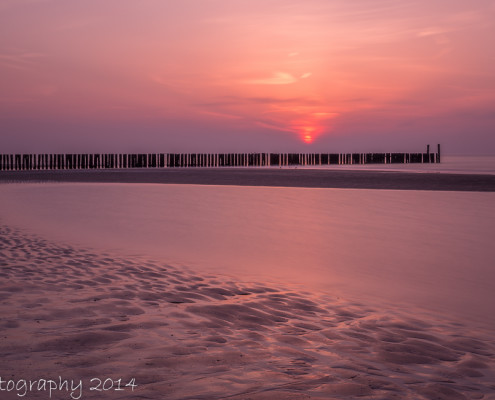 Avondfoto's - Domburg bij zonsondergang | Tux Photography