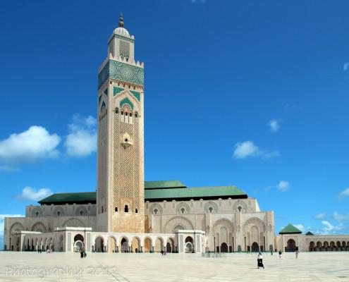 Foto's Marokko - Hassan II Moskee Casablanca