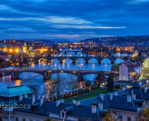 Foto's Praag - Overzicht over Praag | Foto Tux Photography