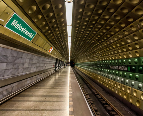 Foto's Praag - Malostranska metrostation | Foto Tux Photography