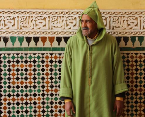 Foto's Marokko - Marokkaanse man in Meknès