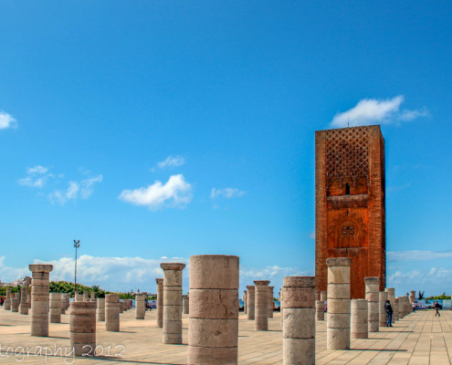 Foto's Marokko - Plein mausoleum Mohammed V, Rabat