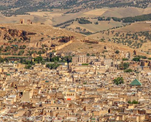 Foto's Marokko - Uitzicht op Fès