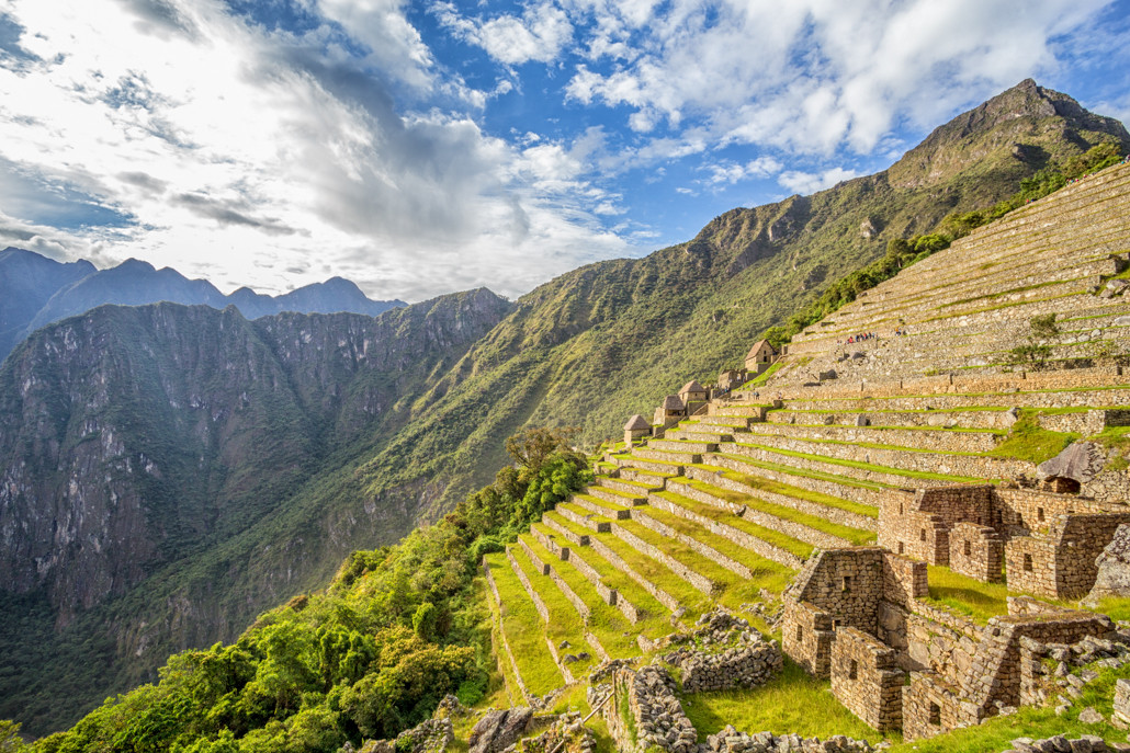 Passie voor fotografie - van passie naar website: Tux Photography - foto Machu Picchu, Peru