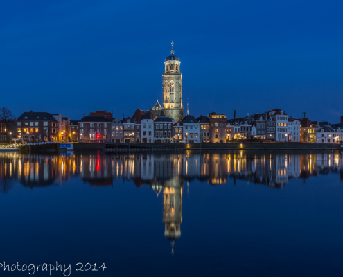 Avondfoto's - Deventer Skyline by Night   Tux Photography