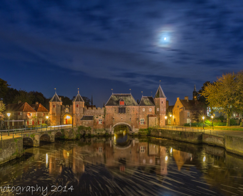 Avondfoto's - Amersfoort, Koppelpoort by Night | Tux Photography