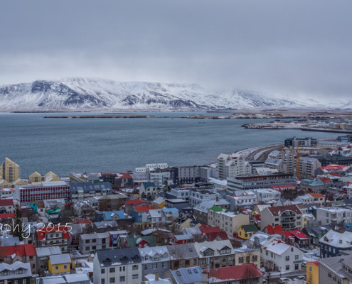 IJsland - Hallgrímskirkja Reykjavik | Tux Photography