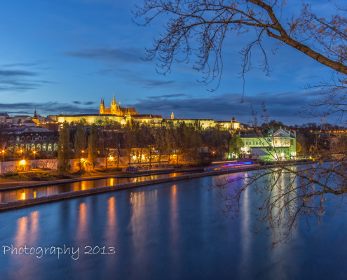 Foto's Praag - Praagse Burcht by night | Foto Tux Photography
