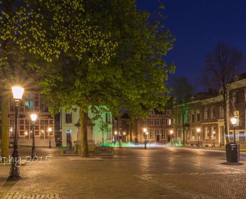 Foto's Utrecht - Domplein Utrecht avond | Foto Tuxphotography