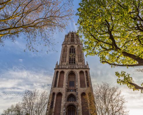 Foto's Utrecht - Foto Domtoren, stad Utrecht | Foto Tux Photography