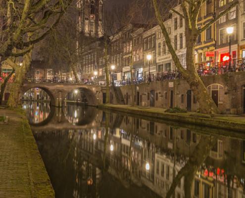 Foto's Utrecht - Foto Domtoren - Oudegracht - Gaardbrug | Tux Photography