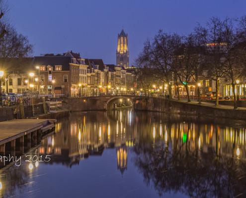 Foto's Utrecht - Foto Domtoren - Oudegracht - Zandbrug | Tux Photography