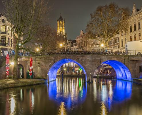 Foto's Utrecht - Foto Domtoren - Oudegracht - Bakkerbrug | Tux Photography