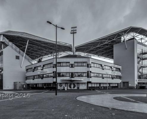 Foto's Utrecht - Stadion Galgenwaard - FC Utrecht | Zwart-wit foto Tux Photography