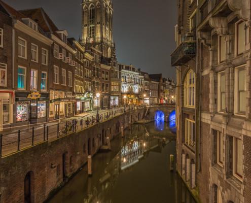 Foto's Utrecht - Foto Domtoren - Oudegracht - Vismarkt | Tux Photography