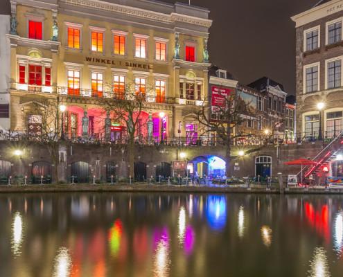 Foto's Utrecht - Foto Winkel van Sinkel - Oudegracht | Tux Photography