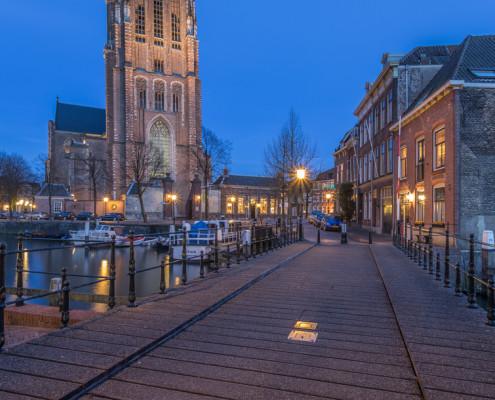 Foto's Dordrecht - Grote Kerk Dordrecht by Night | Tux Photography
