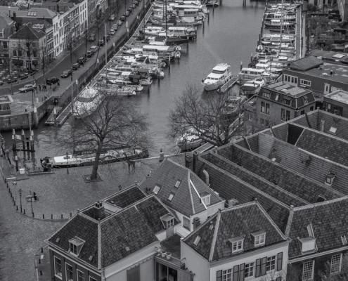 Foto's Dordrecht - Grote Kerk Dordrecht uitzicht | Tux Photography