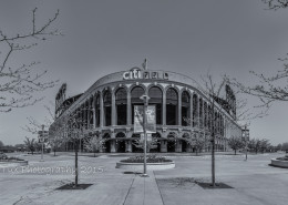 Foto's New York - Citi Field, New York Mets | Zwart-wit foto Tux Photography
