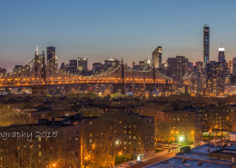Foto's New York - Queensboro Bridge by night | Foto Tux Photography