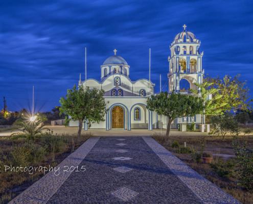 Foto's Santorini - Kerk in Kamari