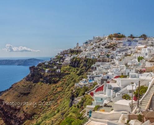 Foto's Santorini - Uitzicht vanuit Imerovigli