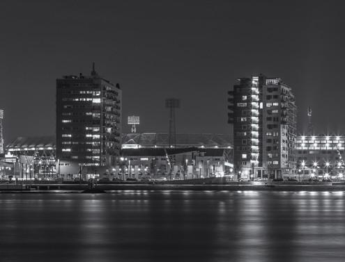 De Kuip by Night - Feyenoord Rotterdam | Tux Photography