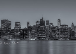 Foto's New York - Manhattan Skyline by Night | Foto Tux Photography
