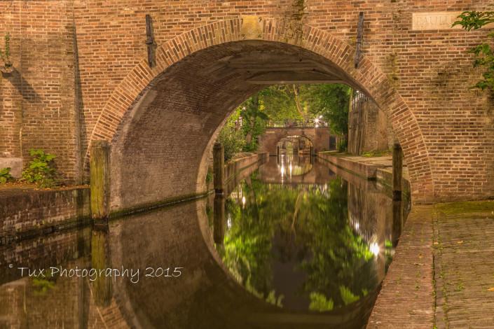 Foto's Utrecht - Foto Nieuwegracht en Puulusbrug | Tux Photography