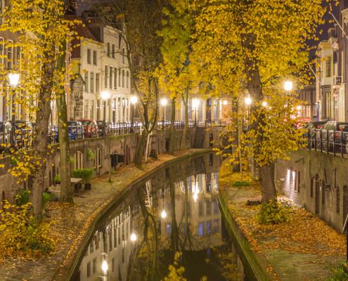Foto's Utrecht - Foto Nieuwegracht in de Herfst | Tux Photography