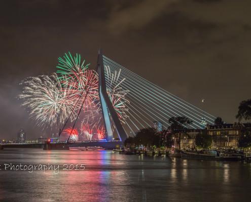 Rotterdam skyline foto by Night - Wereldhavendagen Rotterdam | Tux Photography