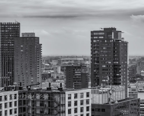 Rotterdam skyline foto - Rotterdam van boven | Tux Photography