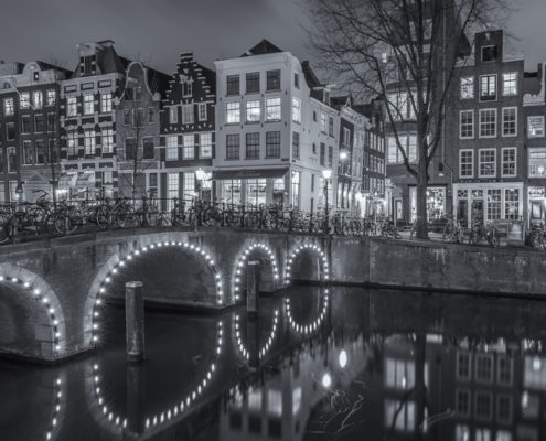 Foto's Amsterdam - Herengracht by Night | Tux Photography