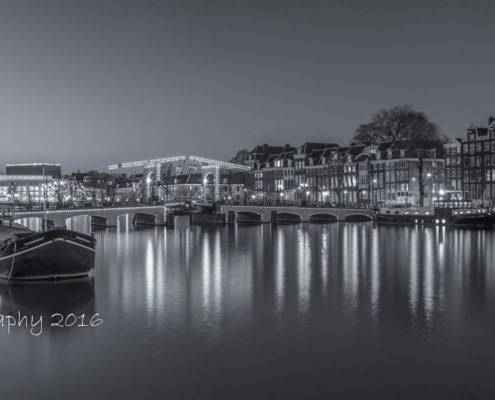 Foto's Amsterdam - Magere Brug by Night | Tux Photography