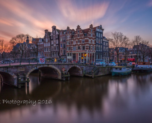 Foto's Amsterdam - Papiermolensluis by Night | Tux Photography