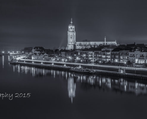 Avondfoto's - Deventer Skyline by Night | Tux Photography