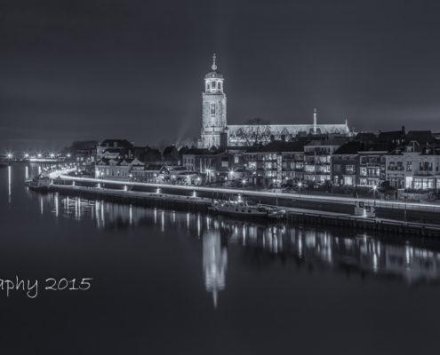 Avondfoto's - Deventer Skyline by Night | Tux Photography