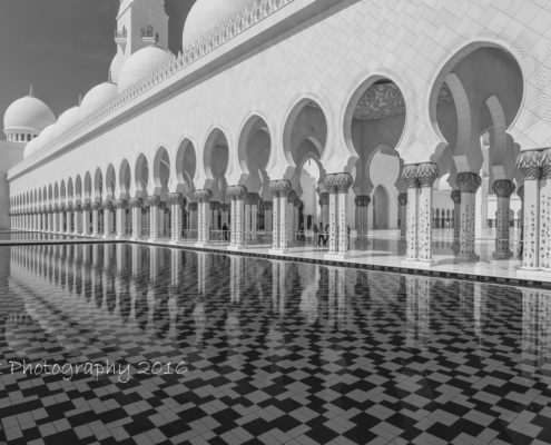 Foto's Dubai - Sheikh Zayed Grand Mosque, Abu Dhabi | Tux Photography