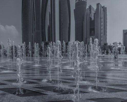 Foto's Dubai - Abu Dhabi Skyline | Tux Photography