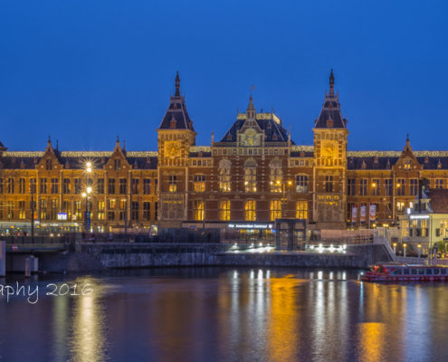 Foto's Amsterdam - Centraal Station | Tux Photography
