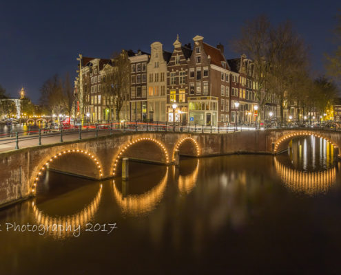 Foto's Amsterdam - Keizersgracht by Night | Tux Photography
