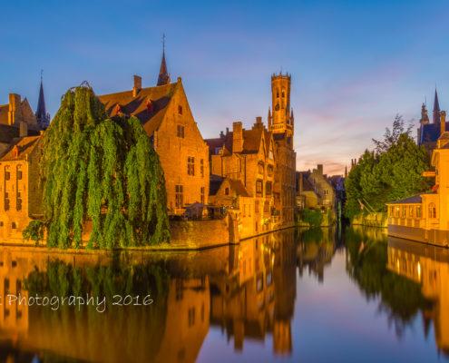 Avondfoto's - Brugge by Night, Rozenhoedkaai | Tux Photography