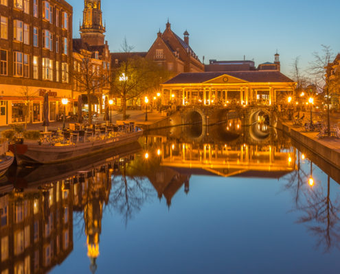 Avondfoto's - Leiden by Night, Koornbrug | Tux Photography