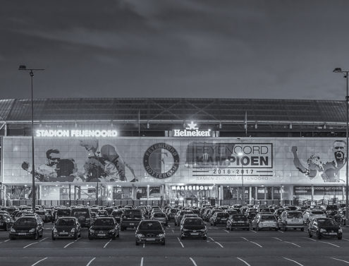 Feyenoord Rotterdam stadion de Kuip