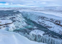 IJsland - Gullfoss Waterval   Tux Photography