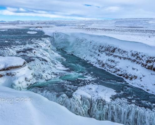 IJsland - Gullfoss Waterval | Tux Photography
