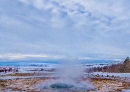 IJsland - Strokkur Geiser   Tux Photography